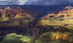 Canyon Storm (grbenson3) Tags: grandcanyonnationalpark southrim brightangelcanyon arizona storm rain clouds weather greatphotographers greaterphotographers
