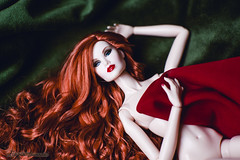 Myra (Flávia_Duarte) Tags: doll fr integritytoys fashionroyalty colorinfusion fashion dolls love convention stylelab tildabrisby ginger redhead supermodelconvention