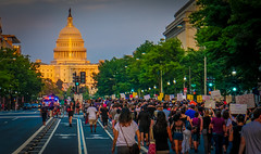 2017.08.13 Charlottesville Candlelight Vigil, Washington, DC USA 8095