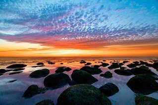 Mackerel sky at Sunny Hunny, Norfolk, Uk (5)