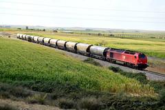 Nueva ruta (pipeviii) Tags: takargo cerealero babilafuente 6001 comsa euro4000 vossloh roja bioetanol