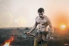 #photoshop #viking #sunset #man (МаксимПогорелов) Tags: photoshop viking sunset man