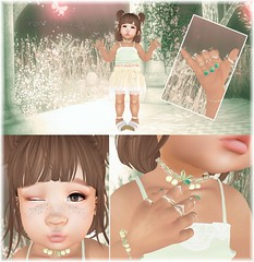 Featuring Lazo for Ninety-Nine & Polished for Color Me Cute (♥ Ellie ♥ Oh Pie Gosh ♥) Tags: baby colormecute lazo nails ninetynineevent outfit polished secondlife toddleedoo
