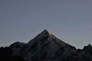 First Light | Panchachuli II (6904 m)