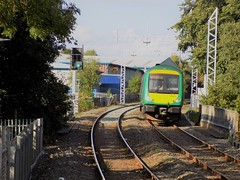 London Midland Class 170 approaching Cannock (simonjohn4) Tags: londonmidland class170 turbostar 170511 cannock dmu railway