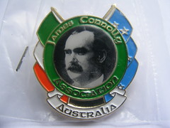 Irish Republican Commemorative or Political Badges (sean and nina) Tags: irish republican commemorative political politics pin badges ireland eire eireann martyrs bobby sands hunger strike strikers james connolly association australia belfast falls curfew flags tricolour starry plough history historical basque