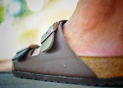 This shoes are made for walking (Mister Blur) Tags: birkenstock shoes foot low pointofview depthoffield dof bokeh paseodemontejo mérida yucatán méxico rosasxocolate nikon d7100 35mm f18