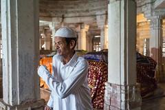 Tomb keeper... (mehtasunil) Tags: tombkeeper tomb caretaker religious religiousman sarkhejroza heritagecity gujarattourism voigtlander35mm leicaimages leicacamera leicasl leicaforum leicaindia redmatrix