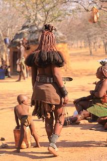Himba Village Kamanjab Damaraland Namibia South West Africa