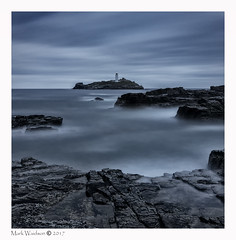 Lighthouse Pt.3 (MarkWaidson) Tags: godrevy lighthouse cornwall le longexposure