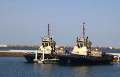 Tugboats in Port Kembla Harbour (RossCunningham183) Tags: svitzermarloo svitzerkiama portkembla harbour tug tugs boat vessel water nsw australia