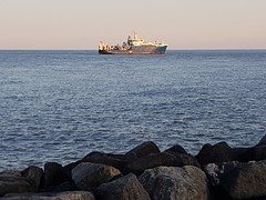 Endeavour on the North sea lowestoft UK (madmax557) Tags: cefasendeavouratlowestoft lowestoft ships surveyships uk eastanglia eastcoast suffolkcoast suffolk northsea outinsea seafront bythesea seascape lowestoftseaviews seaview