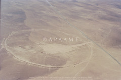 Circle 1 (APAAME) Tags: aerialphotograph oblique scannedfromnegative aerialarchaeology aerialphotography middleeast airphoto archaeology ancienthistory alkarak jordan