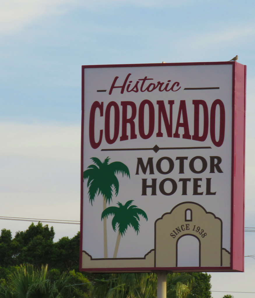The world 39 s best photos of motel and yuma flickr hive mind for Historic coronado motor hotel