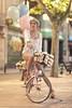 _M3_9720#### (FrankCroft) Tags: primavera spring globos ballons bici bicicleta bicycle calle street flores frowers albacete flowerhead tocadodeflores diadema diadem frankcroft