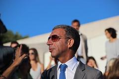 O Presidente do Partido Social Democrata na Fundação António Champalimaud.
