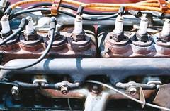 Manifold (Jetcraftsofa) Tags: nikonf3 nikkor852 vista200 35mm filmphotography manifold powerplant vintageengine availablelight
