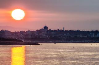 Sunrise over Victoria