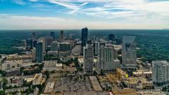 Atlanta, GA: Buckhead skyline along Piedmont Road corridor (nabobswims) Tags: aerialphotography atlanta buckhead georgia hdr helicopter highdynamicrange lightroom nabob nabobswims photomatix sel18105g skyline skyscraper sonya6000 us unitedstates