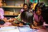 Girls Writing  6151 (Ursula in Aus) Tags: banhuaymaegok banhuaymaegokschool hilltribeeducationprojects maehongson maesariang thep thailand