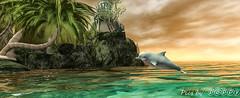 Poppy's Beach  (15) (Poppys_Second_Life) Tags: 2l baha dolphin flipper homesweethome jetty picsbyⓟⓞⓟⓟⓨ pier popi popisadventuresin2l popikone popikonesadventuresin2l poppy sl secondlife virtualphotography
