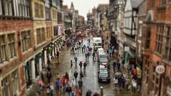 Mini Chester.. (Philip R Jones) Tags: tiltshift mini miniature slider hss postprocessing ps rain wet damp hdr fauxhdr