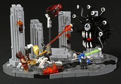 Lair of the Beholder (2:STUDS) Tags: lego moc dd rpg fantasy ruins lair dungeon monster creature character dungeons and dragons