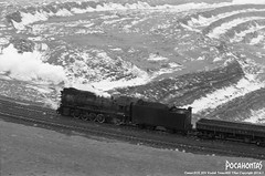 2016/1/3 JS8167 Sandaoling (Pocahontas®) Tags: js8167 setam e locomotive loco railway railroad rail train pit coal mine tmax400 135film film canon engine eos30v