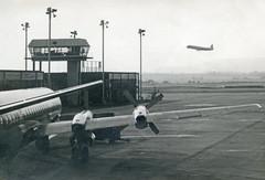 BEA Vanguard and Viscount (Paul Thallon - Aviation Photos) Tags: glasgowairport gla egpf 1968 vickers vanguard viscount bea britisheuropeanairways