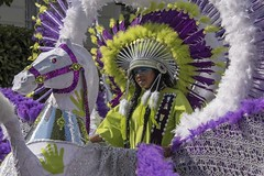 Au carnaval -----+ (Titole) Tags: nottinghillcarnival titole nicolefaton colourful costume purple horse nottinghill londres carnival 15challengeswinner