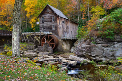 Colormill (pdxsafariguy) Tags: gristmill mill autumn creek gladecreek gladegristmill gladecreekgristmill westvirginia babcockstatepark watermill rustic historic trees bark lichen usa leaves water fall stream park colorful waterwheel wheel building foliage landmark appalachian tomschwabel