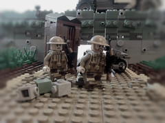 British troops Under a bridge in France (-=Spectre=-) Tags: ui