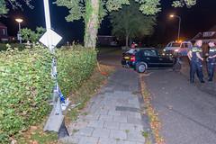 04092017-2768 (Sander Smit / Smit Fotografie) Tags: westersingel appingedam auto boom lantaarnpaal ongeluk ongeval eenzijdig politie ambulance
