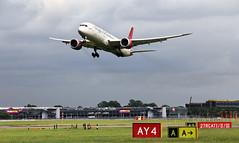 G-VMAP 787-900 @ Heathrow (Daz85) Tags: gvmap virgin atlantic vir42x 789 787900 heathrow lhr egll vir boeing airside canon 60d canon60d aircraft heavy airliner go around missed approach 27r taxiway runway final short