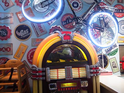Jukebox and Bike