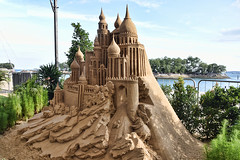 Sand Castle (chooyutshing) Tags: sanscastle sandsculpture tanjooheng display silosobeach sentosasandstation sentosa singapore
