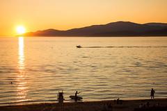 Endless Summer ☀🌊 Vancouver, BC (Michael Thornquist) Tags: stanleypark thirdbeach englishbay bowenisland sup standuppaddle lifeguardchair swimming boat vancouver britishcolumbia 604now photos604 explorebc explorecanada ilovebc pacificnorthwest pnw canada