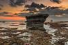 Stand Still (©Helminadia Ranford) Tags: bali rock sunset seascape tide nature landscape indonesia echobeach
