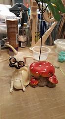WendellInDisguise... (keltora) Tags: dollchateaularry wendall disguise snail mushroom
