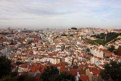 Lizbona widok z zamku 4