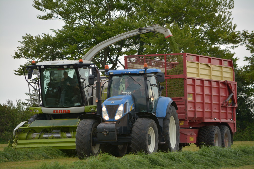 The World's Best Photos of silage and t7030 - Flickr Hive Mind