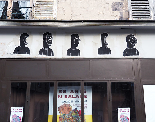 Pasted paper [Clermont-Ferrand, France]