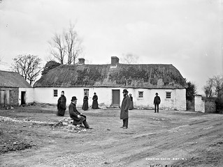 John and Andrew Fox's house, after eviction, Clongorey, Co.Kildare