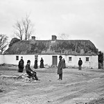 John and Andrew Fox's house, after eviction, Clongorey, Co.Kildare thumbnail