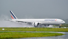 Wet arrival ⛈ (Maxime C-M ✈) Tags: world martinique caribbean airport hurricane water airplane passion arrival travel international nikon photography amazing white french paris grass nature cloudy rainy day irma