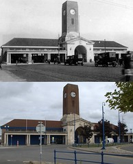 Seacombe Ferry Terminal, 1920s and 2017 (Keithjones84) Tags: birkenhead wallasey merseyside wirral thenandnow rephotography newbrighton