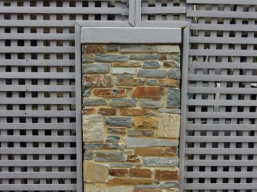 Lattice Enclosed Stone