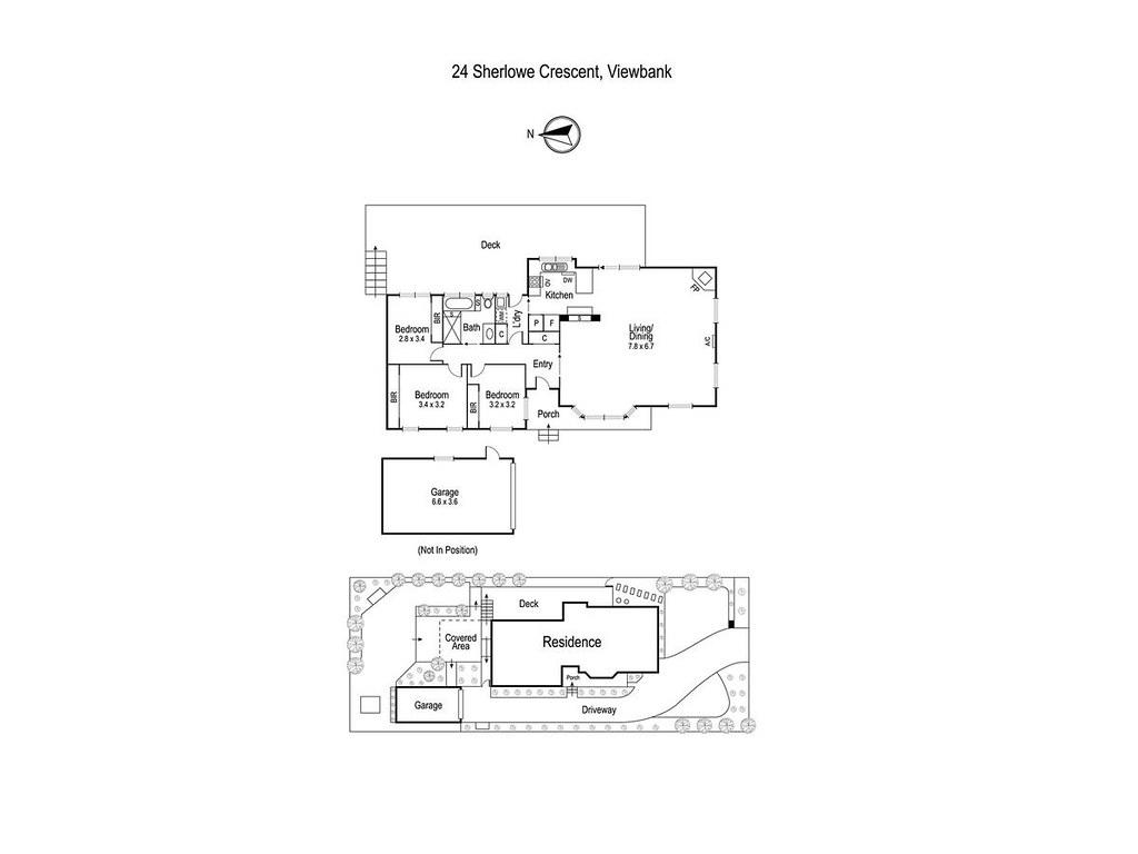24 Sherlowe Crescent floorplan