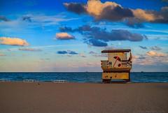 Florida on my mind (julesnene) Tags: americanriviera artdeco beach canonefs1755mmf28isusmlens canoneos7d florida floridaonmymind juliasumangil lifeguardstation lifeguardtower miami miamibeach sobe southbeach julesnene landmark lifeguard lifeguardlookout lookout sand stand stands station