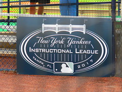 Yankees' Instrux Logo (BeGreen90) Tags: newyorkyankees instructionalleague newyorkyankeesminorleaguecomplex tampa